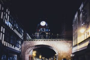 night time in chester