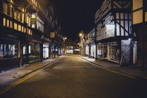 chester streets, tudor buidlings , cheshire