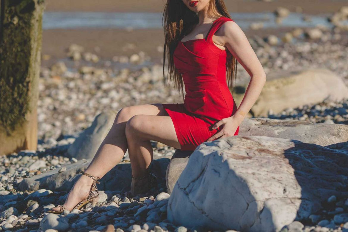 escort in liverpool, red dress, gfe